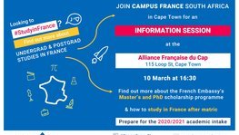 Campus France : study opportunities in France !