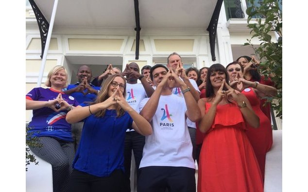 Consulate General of France in Cape Town, #Paris2024